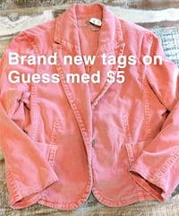 Brand new Guess jacket takes on