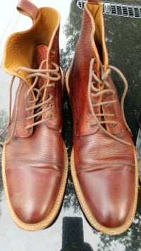 pair of brown leather shoes Santa Rosa, 95401
