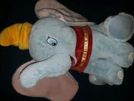Large dumbo plush toy