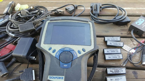 used otc professional tech force vehicle scanner for sale in