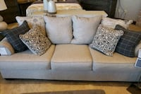 gray fabric 2-seat sofa Manassas, 20109