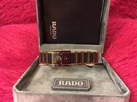 RADO Lady's Watch, excellent working condition, battery changed on Sep 15, 2018(one year warranty with receipt), please contact if interested. Markham