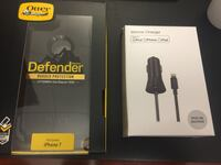 IPhone 7 Defender Otterbox and Car Charger Jacksonville, 32224