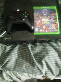 black Xbox One console with controller and game ca Cincinnati, 45240