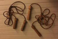 2 Leather Training Jump Ropes / 9 1/2 ft L Pasadena, 21122