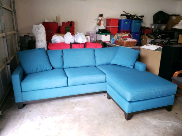 Wondrous Beautiful Blue Couch Bralicious Painted Fabric Chair Ideas Braliciousco