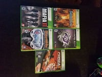 Xbox 360 games - $20 for all  Mississauga, L5B 1E4