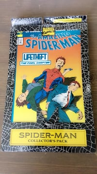 Spider-Man LifeTheft collector's pack comics Vancouver, 98683
