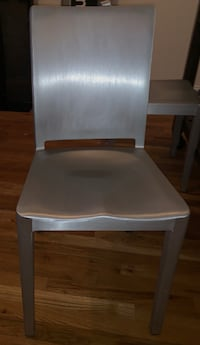 Emeco Hudson Chair by Philippe Starck in Brushed Finished (4 Chairs Available) Kings County