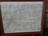 old Slidell map 22 1/2 by 19 Slidell