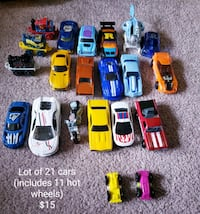 Set of 21 cars - $15 Toronto, M9B 6C4