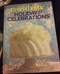 taste of home holiday and celebration 2012 cookbook Silver Spring, 20906