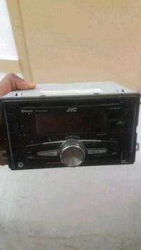 black Pioneer 1-DIN car stereo head unit Toronto, M9L 2V1