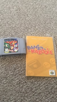 Nintendo 64 game with manual McDonough, 30253