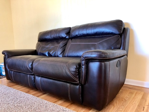Used Faux Leather Recliner Sofa For Sale In San Hose Letgo