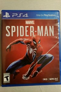 MARVEL SPIDERMAN PS4  College Station, 77840