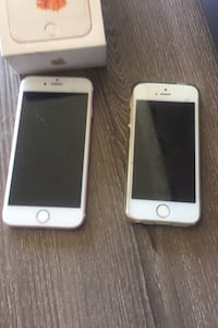 Trading 2 unlocked phones (iphone 6s and iPhone 5)For iPhone 7,8,X,Xr Toronto, M1K 5J5