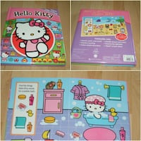 """Hello Kitty First Look and Find Book (large 12"""" x 10"""" size) Surrey"""