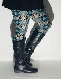New Blue Leggings from MomMe And More  Jacksonville