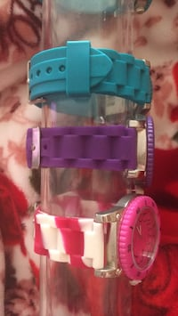 Pink blue and purple quartz watches Mississauga, L5A 3P8