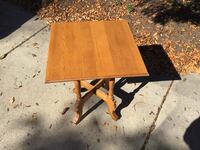 HARD WOOD SQUARE TABLE  Downers Grove, 60516