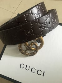 Black and silver gucci belt Toronto, M1H 2Y8