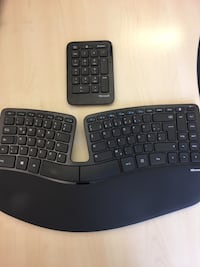 Clavier d'ordinateur Microsoft Sculpt Ergonomic- German layout Paris, 75116