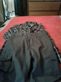gray and black camouflage shorts Mesa, 85204