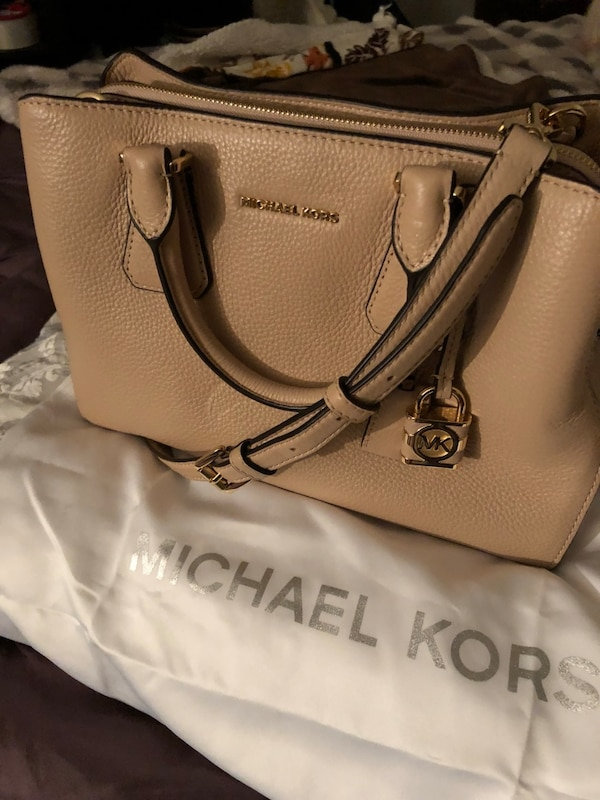 Direct From Michael Kors Camille Satchel New W Dust Bag