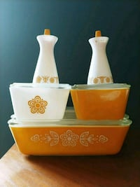 Vintage Pyrex Butterfly Gold Pattern Alexandria, 22311