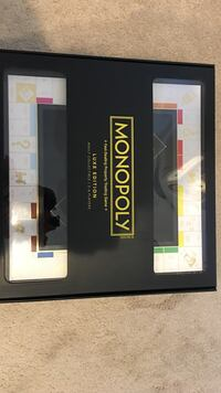 Monopoly Luxe Edition Black