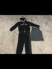 Girls size 24 months Baby Phat Tracksuit  533 km