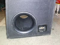 black and gray subwoofer speaker Las Vegas, 89121