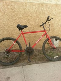red and black mountain bike Regina, S4T 1Y7