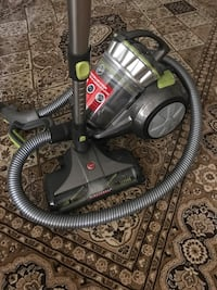 Black and gray canister vacuum cleaner Toronto, M3N 1C6