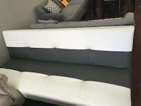 white and black sectional couch SALTLAKECITY
