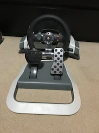 Xbox 360 Racing wheel and Pedals Oakville, L6M 2Z5
