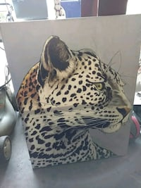 Leopard painting Grove City, 43123