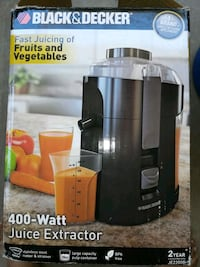 Black and decker 400w juice extractor Phoenix, 85021