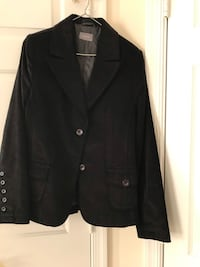 Woman's Jacket Black velvet size M Vienna, 22180