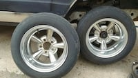 (2) 14x7in. SUPREMES, NEEDS CENTER CAPS. Oklahoma City, 73111
