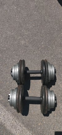 Cast Iron 120lb Dumbbell  Set (60lb Each)