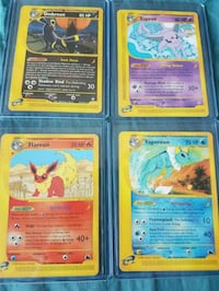 Rare Pokemon Aquapolis Expedition Eeveelution Card Toronto, M1H 3J5