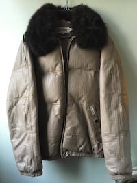 Double Goose down jacket sz L Oslo, 0458