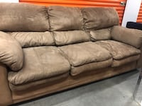 Brown Microfiber Sofa & Loveseat (DELIVERY INCLUDED) Beaverton, 97007