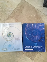 Organic Chem by Iverson 7th edition with soln manual. Price negotiable 47 km