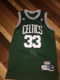 Larry Bird Adidas hard wood classic jersey 506 km