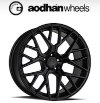 Aodhan wheels 5x100 5x114 5x120 (Only $50 down payment, no credit needed) Cedar Grove, 07009