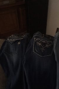 5 pair of Miss me jeans for sale Oklahoma City, 73099