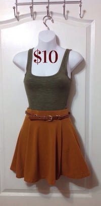 Forever 21 Skirt & Mossimo Tank Outfit Brampton, L7A